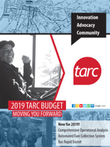 2019 tarc budget moving you forward